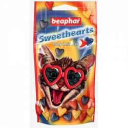 "Витамины ""BEAPHAR"" Sweet Hearts кош 150т (кура)"